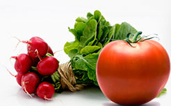 Radish tomato